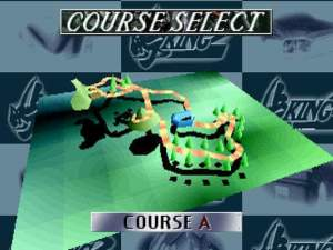 Touge Course Select