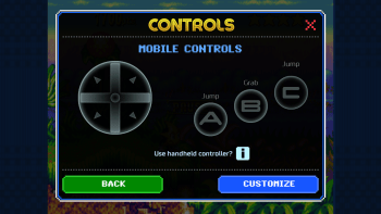 You can now customise the controls!...