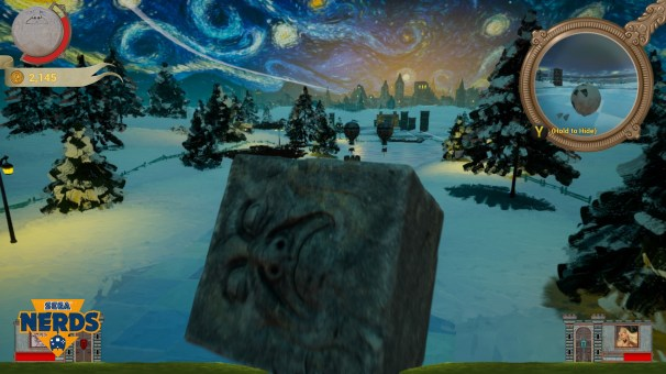Starry Night by Van Gogh is one my favourite level designs