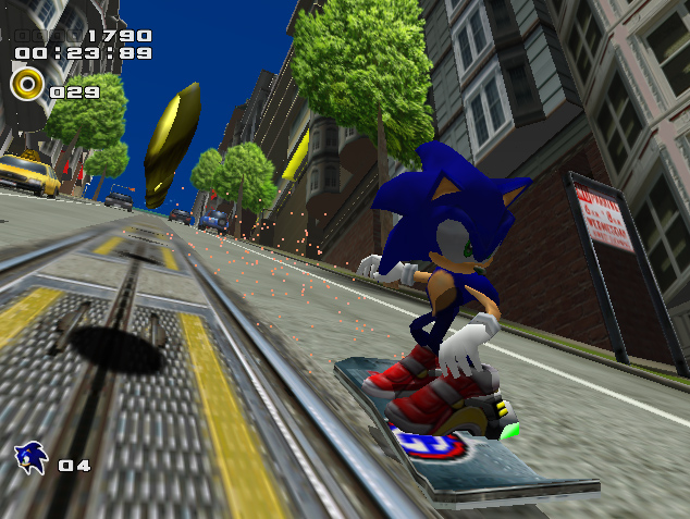 Image result for sonic adventure 2 city escape