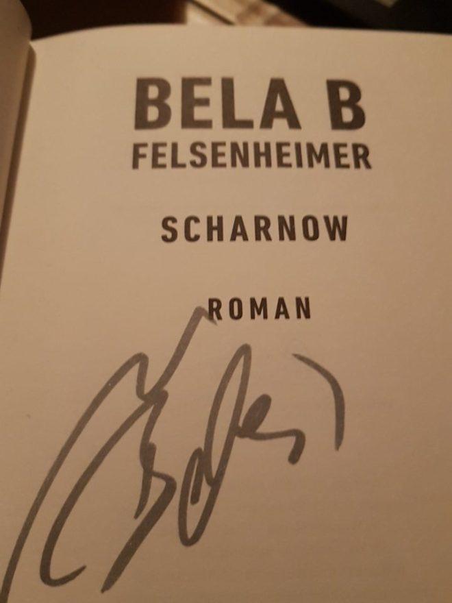 Autogramm von Bela B.