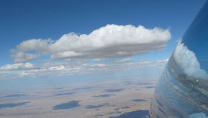 Gariep_Dam_Cumulus_Clouds