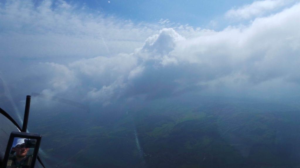 Sontra Segelflug Wolken Traumhaft