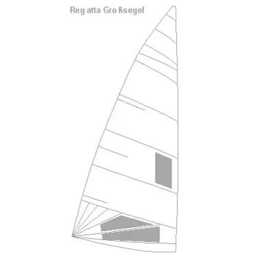 Ixylon Großsegel Regatta Produktbild
