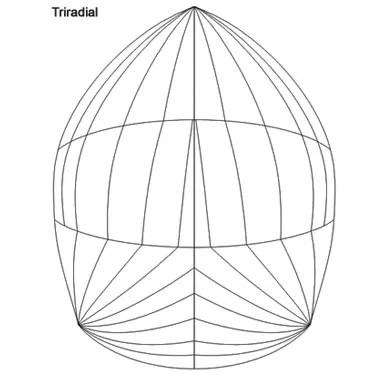 Produktbild Jeton Spinnaker Triradial