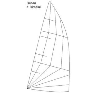Produktbild ZK10 Großsegel Besan