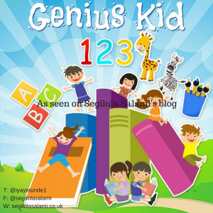 Have you heard of the Genius Kid App? as seen on segilola salami's blog