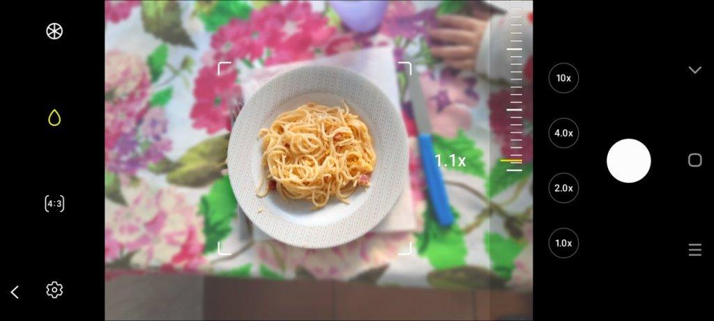 Fotografare il cibo