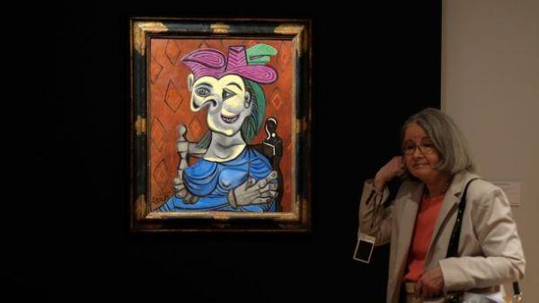 Портрет любовницы Пикассо ушел с молотка за 45 миллионов ...