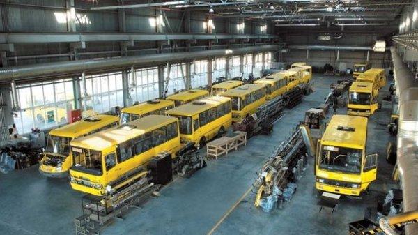 Украина стремительно нарастила выпуск автобусов ...