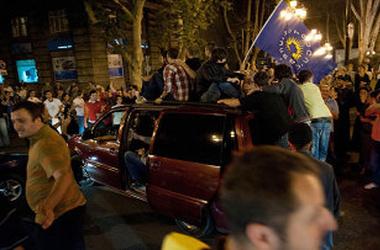 Сторонники Маргвелашвили вышли на улицы Тбилиси