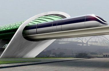 На вакуумном поезде из Братиславы в Вену можно будет ...