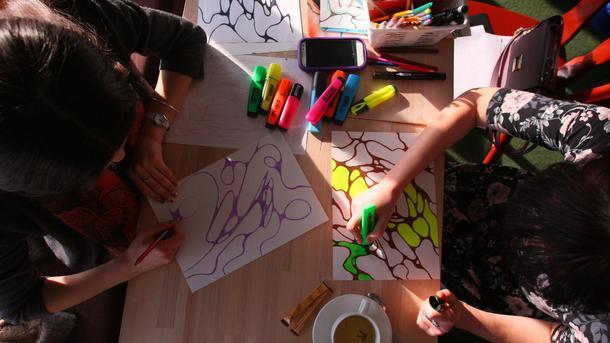 Рисунки имеют психическое содержание — в них заложено реальное переживание человека