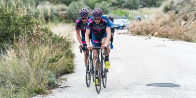 Cees Bol takes sixth in the second stage in Bretagne