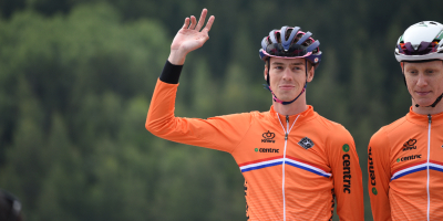 Q&A with Thymen Arensman post Tour de l'Avenir