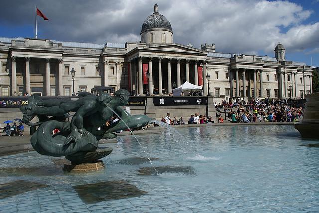 National Gallery um dos melhores museus em Londres