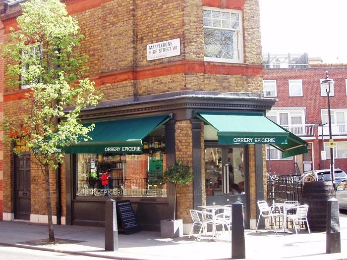 Uma esquina em Marylebone