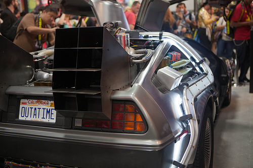 imagem do DeLorean DMC-12