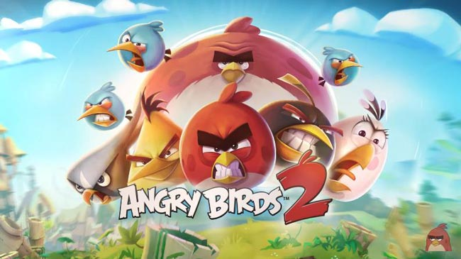 Best free games for Android, Angry Birds Games.
