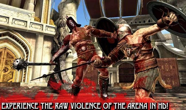 Melhor jogo Android HD Blood and Glory.