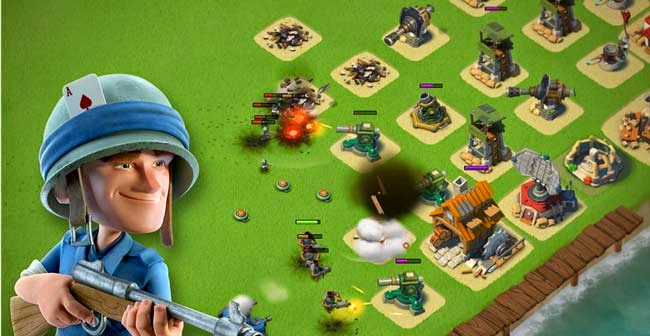 Boom Beach, best free Android game.