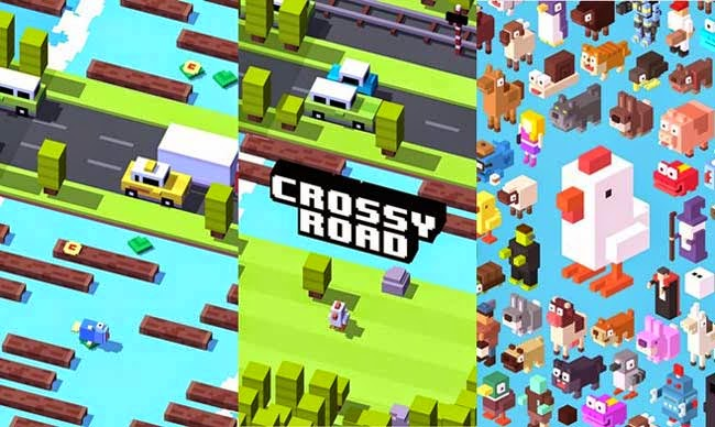 Crossy Road, best free Android game.