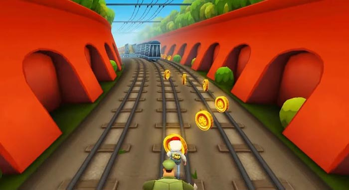 Melhores jogos Android tipo Temple Run, Subway Surfers.