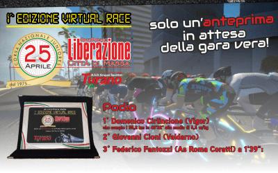 GP Liberazione Città di Massa 1^ Virtual Race a Cirlincione (Vigor)