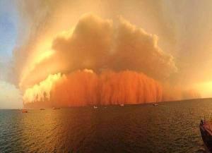 Australia, lo tsunami di sabbia rossa