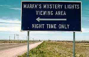 Le luci fantasma di Marfa