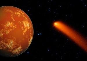 Cometa C/2013 A1, rischio di catastrofe planetaria su Marte