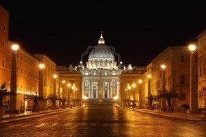 Avvistamento Ufo sul Vaticano a Roma