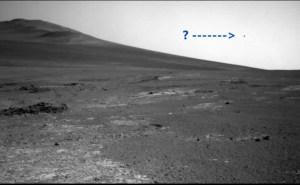 Il Mars Rover fotografa misterioso oggetto su Marte
