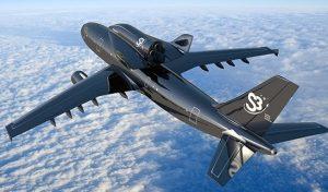 Svezia: lancio di una navetta spaziale da un aereo Airbus A300