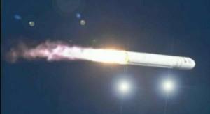 Avvistato Ufo durante la prima missione del vettore spaziale Antares