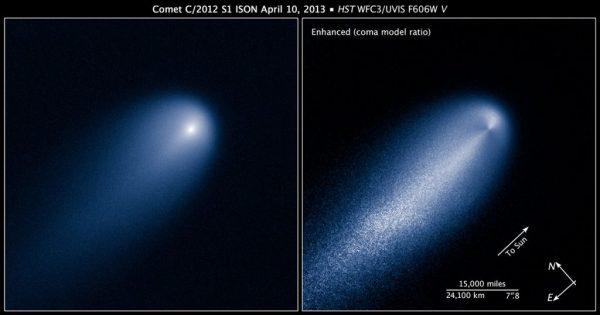Hubble fotografa ISON, la cometa del secolo