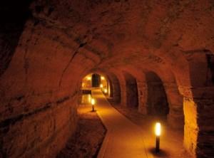 La voce misteriosa nelle grotte di Camerano
