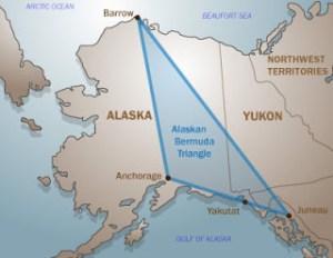 Il Triangolo dell'Alaska, luogo di misteriose sparizioni