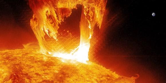 Intensa onda di plasma solare in rotta verso la Terra