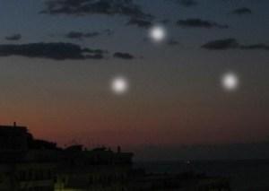 Luci misteriose nella notte a Stradella