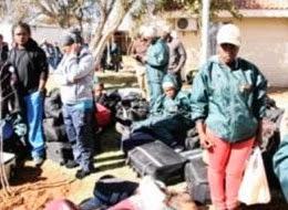 Fenomeni paranormali nella base militare di Kimberly, Sudafrica