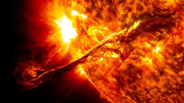 Terza eruzione solare in una settimana