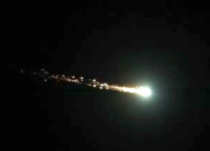 Avvistato un super bolide in Ucraina