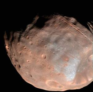 Tracce marziane su Phobos