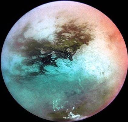 Forse osservate onde sui mari di Titano