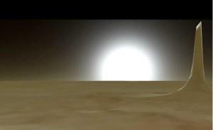 Marte: scoperta una costruzione alta 5 miglia