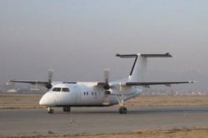 Aereo charter DHC-8 sfiora collisione con un Ufo