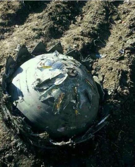 Tre oggetti volanti non identificati si schiantano in Cina