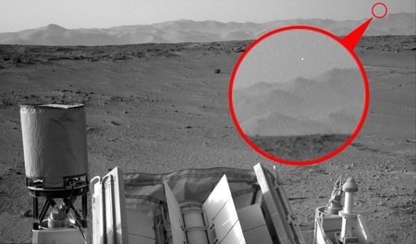 Curiosity fotografa un Ufo Video Segreti e Misteri