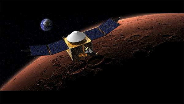 La sonda Maven ha iniziato a orbitare attorno a Marte